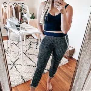 Anthropologie HEI HEI speckled joggers